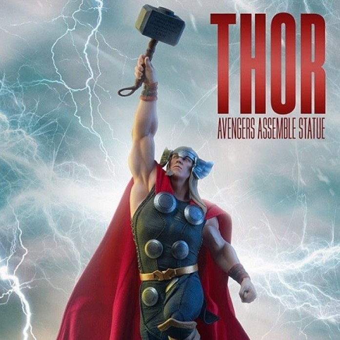 [파격 할인][SIDESHOW] 토르 어벤저스 어셈블 스태츄 ( Thor Avengers Assemble Statue by Sideshow Collectibles )