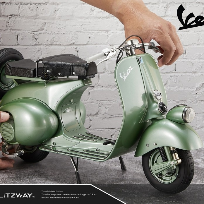 [예약상품][BLITZWAY] 로마의휴일 1951 베스파 스쿠터 , Roman Holiday 1951 Vespa Scuter Superb Scale Statue (1/4 scale) Hybrid type